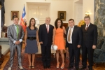 President Piñera welcomes world boxing champion, Carolina Rodríguez