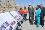 The President of Chile inaugurates Route 5 highway expansion project in Copiapó