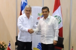 President Piñera holds bilateral meeting with the President of Peru