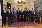 President Piñera welcomes ODESUR Executive Committee to La Moneda Palace